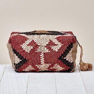 Restocking soon - Aztec Woven Cosmetic Bag